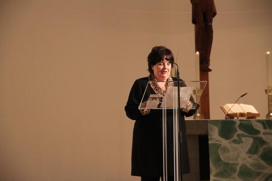 unsere 1. Vorsitzende Marlene Abbara