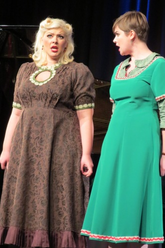 Duo Pique Damen, Opernhaus Hagen