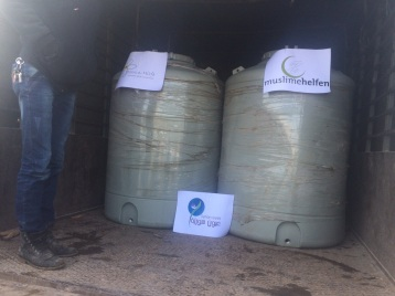 Wassertanks