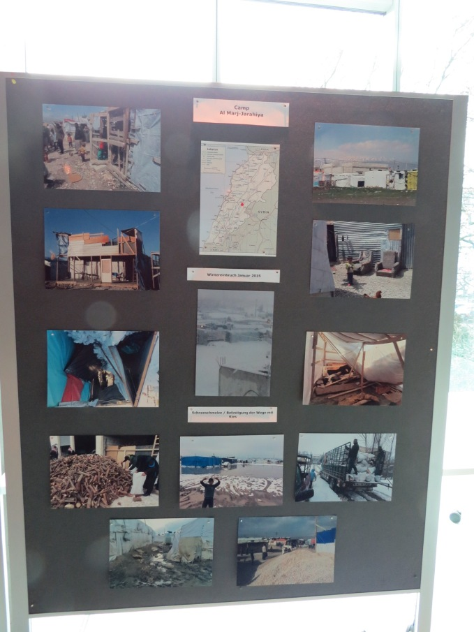 die Camps im Libanon - Fotoausstellung